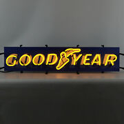 Goodyear Neon Sign Licensed Tires Dad's Garage Wall Lamp Light Good Year Blimp