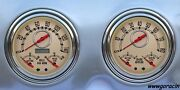 New Vintage Usa,1947-1953 Chevrolet-gmc Truck Direct Fit Gauge Packages,chevy
