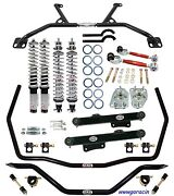 Qa1 Handling Level 2 Coilover Suspension Kit - Fits 79-89 Ford Mustang,gt,5.0