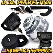 Starter Ignition Switch Replaces Ford Tractor Lb741308 W/dual Dust Guard System