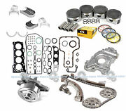 00-08 Toyota Celica Matrix 1.8l 1zzfe Dohc Overhaul Engine Rebuild Kit Graphite