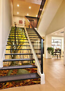 3d Tree Shatter Stair Risers Decoration Photo Mural Vinyl Decal Wallpaper Ca