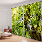 3d Tree Dove 72 Blockout Photo Curtain Printing Curtains Drapes Fabric Window Ca
