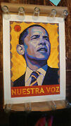 Rafael Lopez Barack Obama Offical Campaign Print Poster Signed Limited Edition