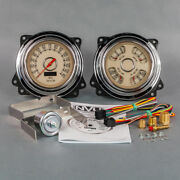 New Vintage Usa 1947-1953 Chevrolet Truck Direct Fit Woodward Gauge Package