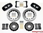 Wilwood Aero6 Front Big Brake Kit Fits 2005-2014 Ford Mustang Gtgt500shelby