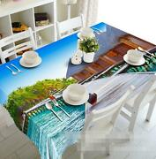 3d Holiday 967 Tablecloth Table Cover Cloth Birthday Party Event Aj Wallpaper Au