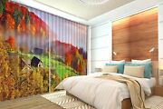 3d Forest House Blockout Photo Curtain Printing Curtains Drapes Fabric Window Ca