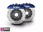 D1 Spec Front Rs Blue Forged Big Brake Kit 4-piston Front For 2013+ Honda Accord