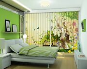 3d Anime House Blockout Photo Curtain Printing Curtains Drapes Fabric Window Ca