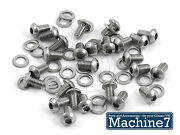 Vw Beetle Engine Stainless Tin Ware Button Screws 1200 1300 1500 1600 1302 1303