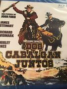 Two Rode Together Blu Ray Region Free Jimmy Stewart Fast Shipping