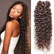 Brazilian 100 Remy Curly Human Hair Weave 1/3 Bundles Jerry Curl Hair Extension
