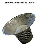 200w Led High Bay Light Fixture For Warehouse Commercial Industrial 25000 Lumens