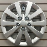 New 16 Silver Hubcap Wheelcover That Fits 2013-2019 Nissan Sentra
