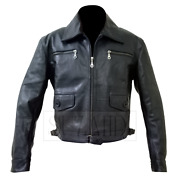 Accurate Erich Hartmann / Bubi Wwii German Luftwaffe Leather Jacket By Suzahdi