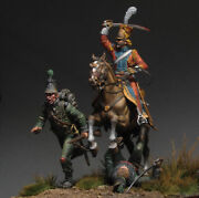 Red Lancer Hunting For Grasshoppers Painted Tin Toy Soldier Pre-sale   Museum