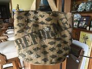 French Country Burlap Jute Purse Bag Feed Sacks Wine Carrier Garden