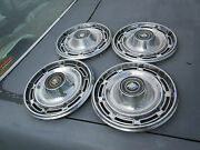 67 Buick Special 14 Inch 14 Hubcap Wheel Cover Set Of 4