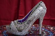 Cinderella Shoe One Of A Kind Hand Made Excellent For Marriage Proposal