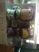 Disney Store D23 Expo Toy Story Buzz Lightyear And Zurg Tin Wind Up Le 1500