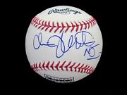 Chris Christie New Jersey Governor Pres. Candidate Signed Auto Hof Baseball Jsa