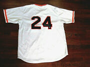 Willie Mays 2 X Mvp Roy New York Giants Hof Signed Auto Jersey Say Hey Authentic