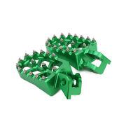 Cnc Foot Pegs Pedals Rests Footpegs For Kx125 Kx250 1998-2001 Dirt Bike
