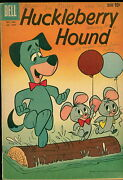 Dell And Gold Key Comic Lot, Huckleberry Hound Fc 1050, 10, Gk 19
