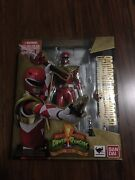 S.h. Figuarts Mighty Morphin Power Rangers Armored Red Ranger