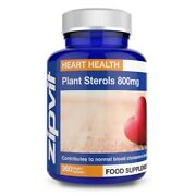 Plant Sterols 800mg Phytosterols 95 - Vegan Tablets - Proven To Lower Chol...