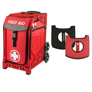 Zuca First Aid Sport Insert Bag And Red Frame With Gift Seat Cushion