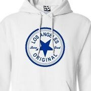 Los Angeles Original Inverse Hoodie - Hooded Born And Bred In Sweatshirt All Color