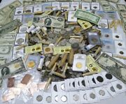 Antique Coin Estate Lot Gold And Silver Bullion,currency,hoard,coins, 10 Items
