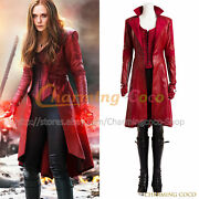 Captain America 3 Civil War Cosplay Wanda Maximoff Scarlet Witch Costume Sexy