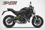 For Ducati Monster 797 Zard Exhaust Racing Full System Titanium Special Edition