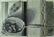 1879 Engraved Victorian Trade Card Moth Beetle Insects Seashell Fabulous G