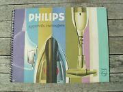 Catalogue Philips 1961 Complet Ttbe Complete And Near Mint Catalog Vintage Old