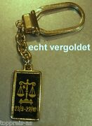 Classy Key Ring Zodiac Sign Scale Libra Gold Plated Keychain Star Sign