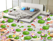 3d Lotus Shell Fish 803 Floor Wallpaper Murals Wall Print Decal Aj Wallpaper Us