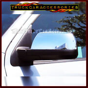 For Toyota Sequoia 2007-201011 12 13 14 15 16 17 18 19 Chrome Top Mirror Cover