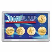 New American Coin Treasures 2007 Gold-layered State Quarters 235