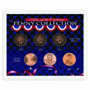 New American Coin Treasures Turn Of The Centuries Penny Collection 1604