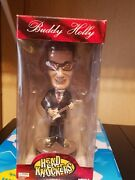Retired And Rare Buddy Holly Head Knocker By Neca New In The Box