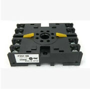10pc Omron Time Relay Base P2cf-08 Supporting H3cr Series