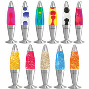 16 Soothing Motion Lava Lamp Relaxing Glitter Liquid Wax Light Novelty Gift New