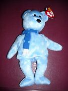 Ty Original Beanie Baby 1999 Holiday Teddy In Mint Condition
