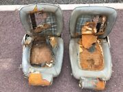 1969 Amx Amc Javelin Factory Bucket Reclining Seats With Headrests Rare Find