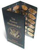 Penny Passport Souvenir Elongated Pressed Penny Album Gift Fast Free Shipping