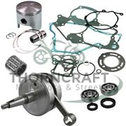 Yamaha Yzf 250 Yzf250 Engine Rebuild Gasket Piston Seal Crankshaft Set Kit 03-07